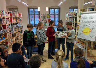 Besuch Stadtbibliothek