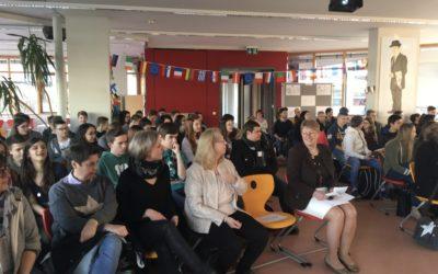 Austauschschüler aus San Bonifacio und Rive-de-Gier zu Gast in Bamberg