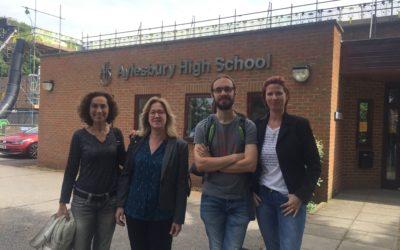 Besuch der Aylesbury Highschool