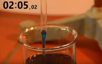 Oxidation von Eisen – Teil 2