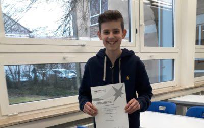 Sieger Regionalwettbewerb Jugend forscht