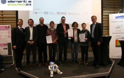 Auszeichnung element-eSchulpreis 2018