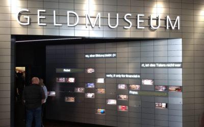 Besuch des Geldmuseums und Vortrag zur Geldpolitik