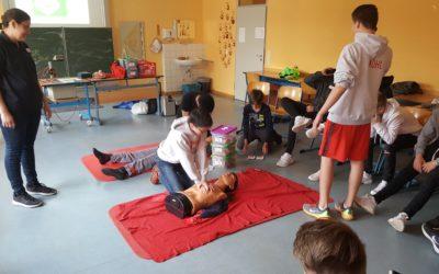 Erste-Hilfe-Kurs für alle 8.Klassen