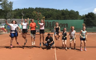 Oberfränkischer Vize-Meister Tennis W IV