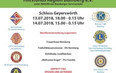 Sommerfest zugunsten des DG Freiluftklassenzimmers
