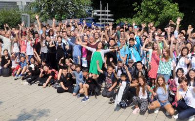 Chinesische Jugendbegegnung am DG
