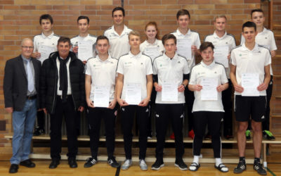 12 neue Junior Coaches am Dientzenhofer-Gymnasium Bamberg