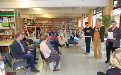 Feierliche Eröffnung der neuen Unterstufenbibliothek
