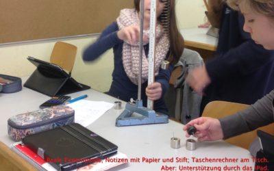 Physik-Experimente mit dem iPad dokumentieren und auswerten