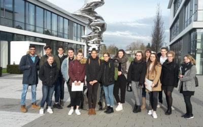 P-Seminar Bedford bei Brose Bamberg zum Bewerbertag