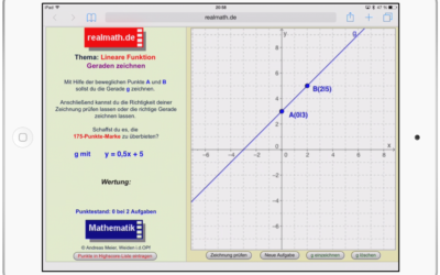 iPad-Arbeit im Mathematikunterricht