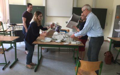 Europa-Juniorwahl am DG