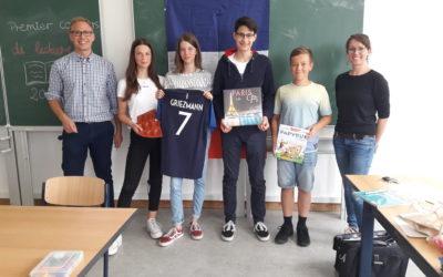 Französisch-Lesewettbewerb 2019