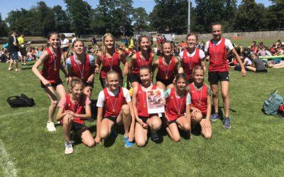 Oberfränkischer Meister Leichtathletik Jungen und Mädchen