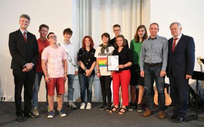 """3. Sieger beim Landeswettbewerb """"Erinnerungszeichen"""""""
