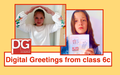 Digital Greetings from class 6c