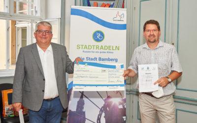 DG holt 2. Preis beim Bamberger Stadtradeln