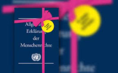 """Das DG startet in die """"Wochen der Menschenrechte"""""""
