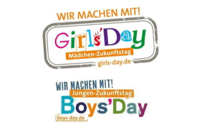 Girls'/Boys'Day 2021 digital – WIR WAREN DABEI !