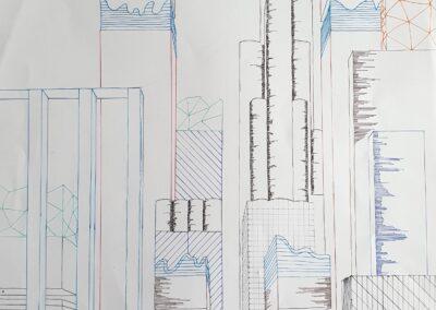 Futuristische Stadt, Adrian Jacob, 8a