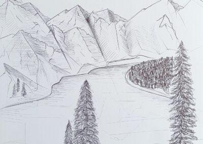 Grafische Landschaft, Nikita Bergmann, 10a