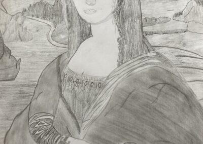 Mona Lisa 2021, Benja Döppel, 8b