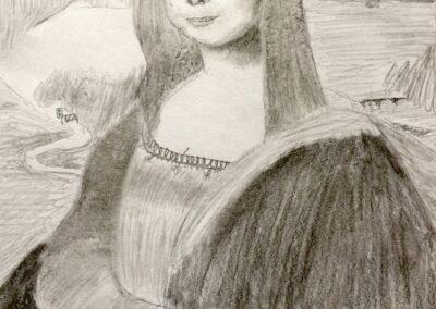 Mona Lisa 2021, Cordelia Steiner, 8b