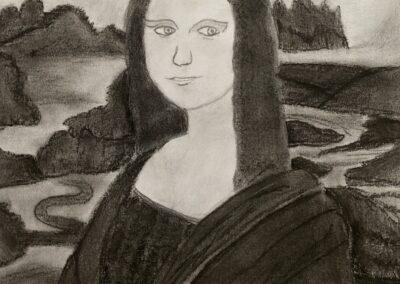 Mona Lisa 2021, Silvia Sestito, 8b