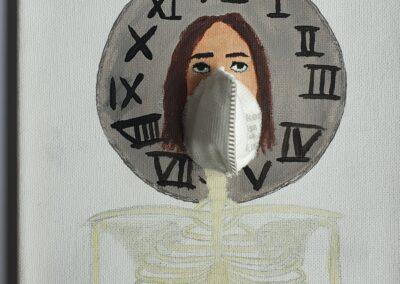 #Surrealismus#Selbstporträt#Vanitas, Julia Dütsch, Q11