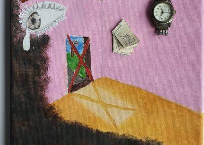 #Surrealismus#Selbstporträt#Vanitas, Wlade Fleischhauer, Q11