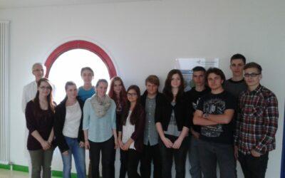 P-Seminar Typisierungsaktion: Besuch des Klinikums Bamberg